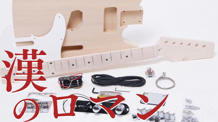 組立ギターキット