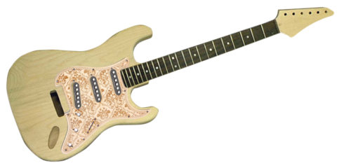 HOSCOでオリジナルギター